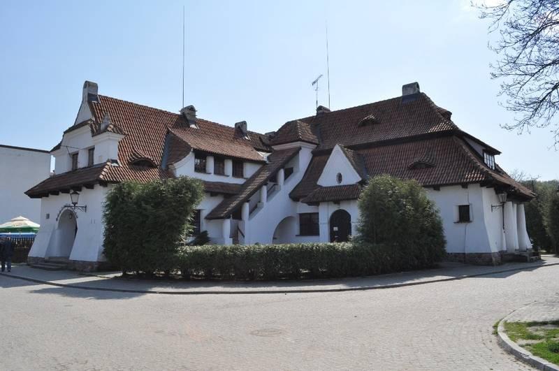 zdjęcie zabytkowa łaźnia, Kazimierz Dolny