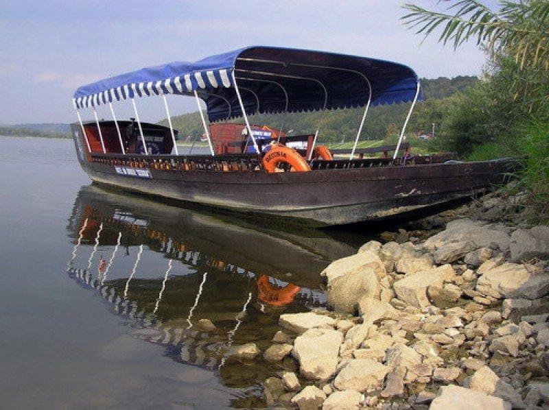 zdjęcie łódź, Kazimierz Dolny