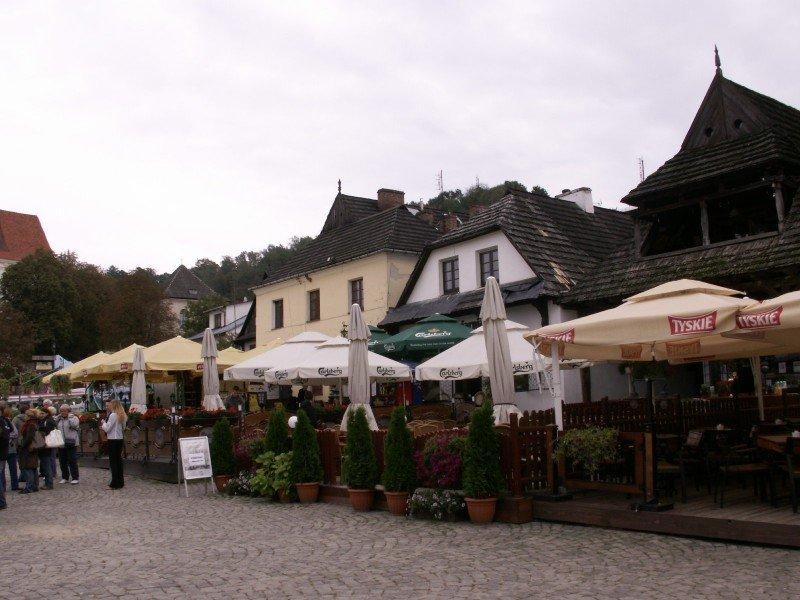 zdjęcie rynku Kazimierza Dolnego