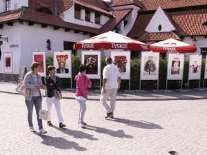 Plenerowa wystawa plakatów filmowych
