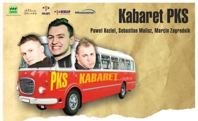 Występ kabaretu PKS