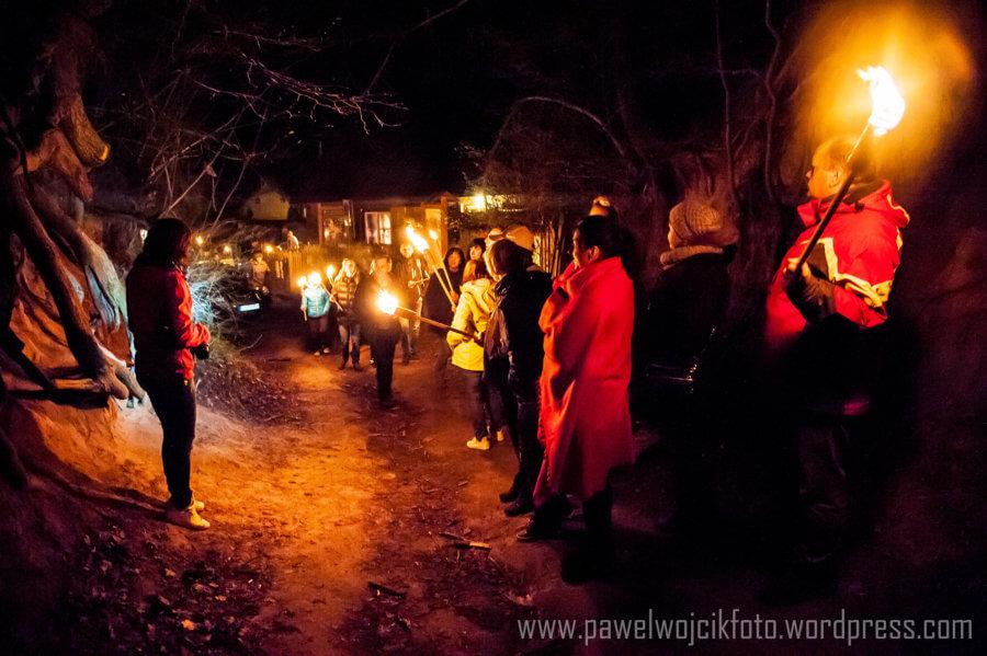 Nocne zwiedzanie Kazimierza Dolnego