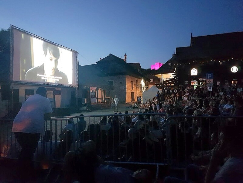 Kino na Kazimierskim Rynku