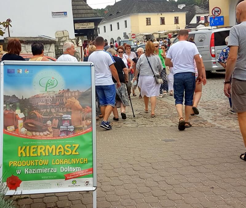 Kiermasz Produktów lokalnych w Kazimierzu