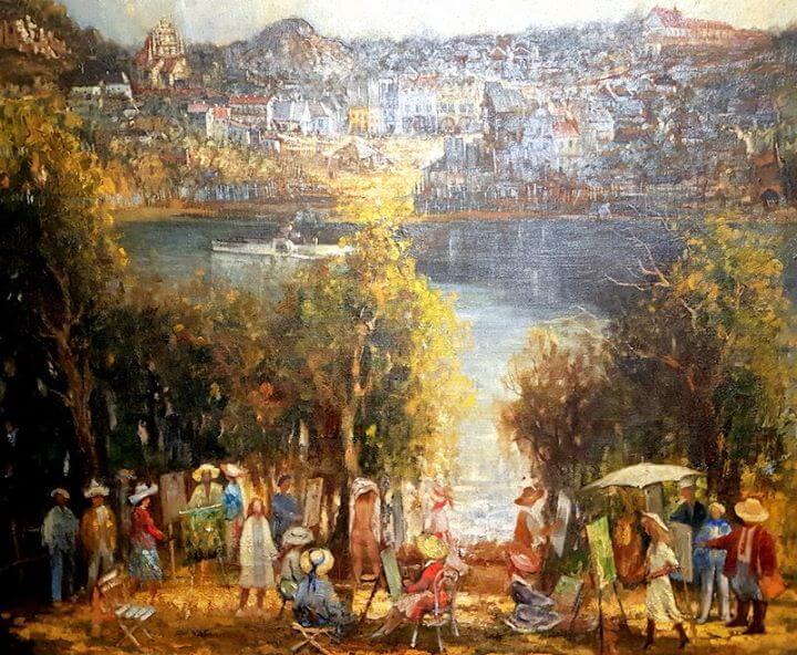 Kazimierz Dolny był i jest inspiracją dla wielu znanych osób: malarzy, pisarzy, architektów, poetów,…