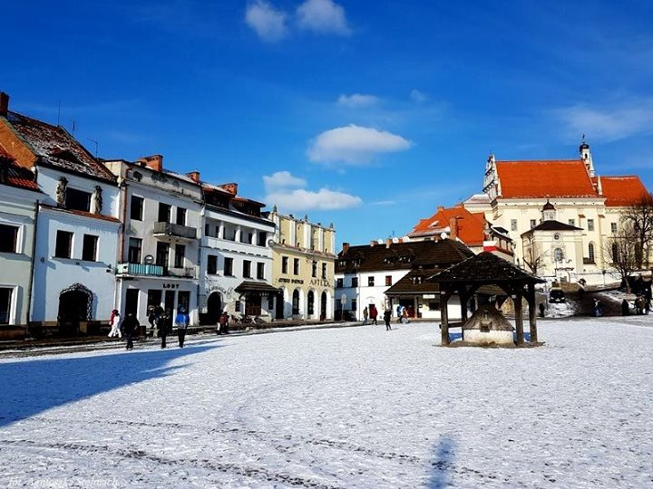Dopiero pod koniec lutego zima pokazała prawdziwe oblicze. Pozdrawiamy wszystkich z mroźnego i zaśnieżonego…