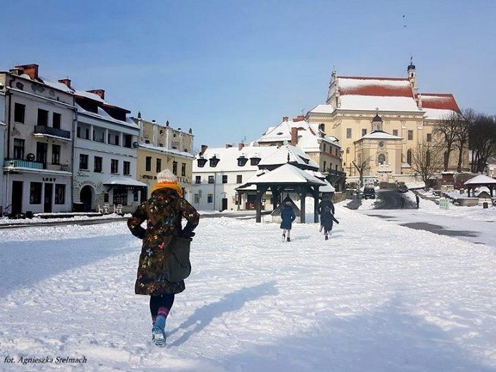 Specjalnie dla Was kilka weekendowych fotek z zaśnieżonego Kazimierza :)