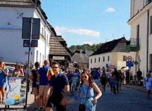 Tłumna niedziela w Kazimierzu :)