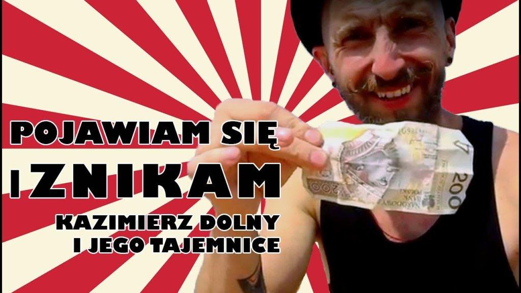 Zapraszam na magiczny spacer po Kazimierzu Dolny Z Panem Ząbkiem: