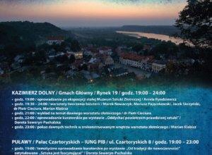 noc muzeów Kazimierz Dolny