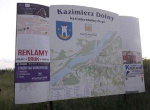 Zachęcamy do reklamy swoich usług na tablicy przy największym parkingu w Kazimierzu Dolnym. Na…